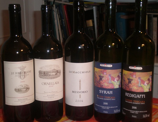 Gems From Tuscanys Spectacular 2006 Vintage Jan 2009