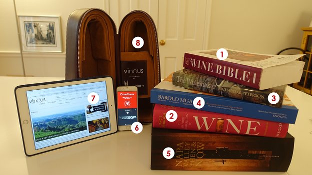 1) Karen MacNeil's Wine Bible (2nd Edition) is a terrific choice for those who are just getting into wine. Early chapters are focus on general topics such ...