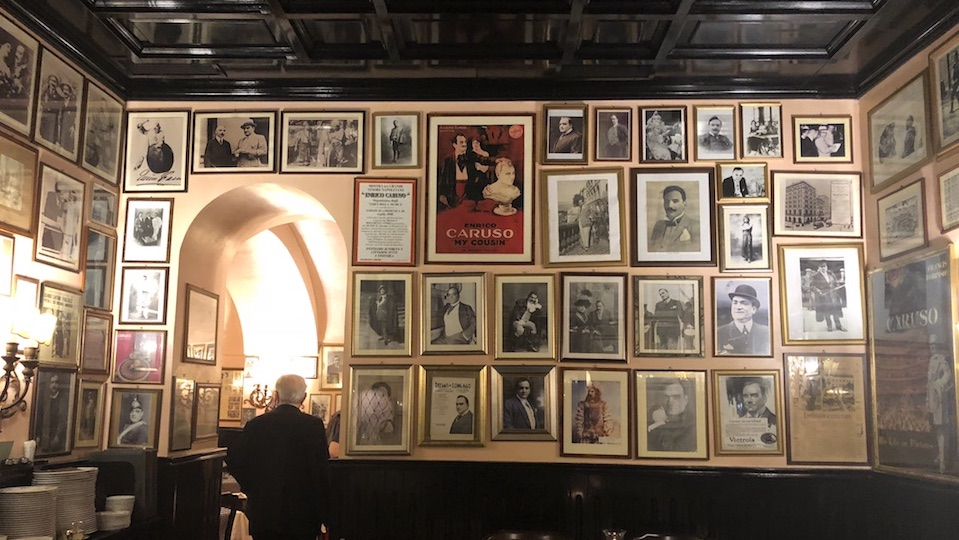 Vinous Table Ristorante Museo Caruso Sorrento Italy Jul