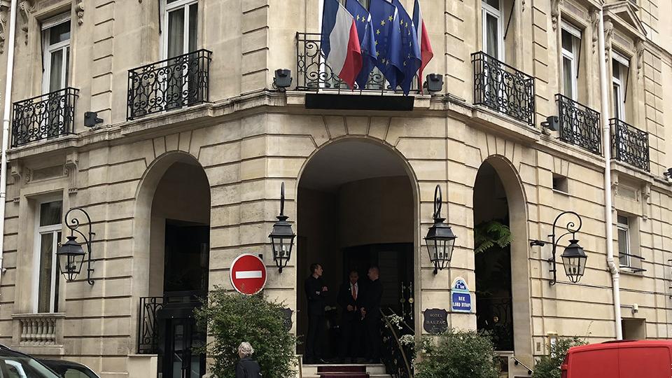 Vinous Table Pierre Gagnaire Paris France Sep 2018