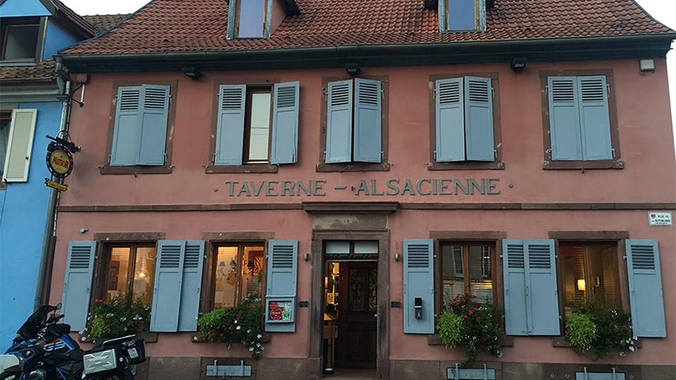 Vinous Table La Taverne Alsacienne Ingersheim France Feb